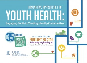 Logo for 35th annual Minority Health Conference